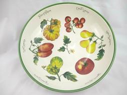 Williams Sonoma Heirloom Tomatoes Large Serving Pasta Bowl D